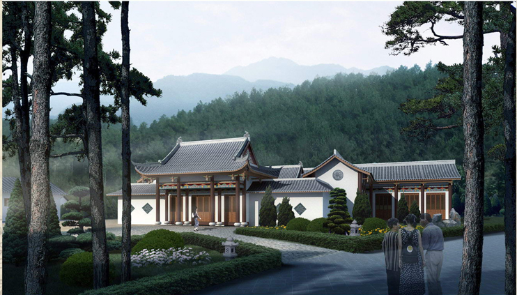 宝山陵园景观规划设计方案新鲜出炉